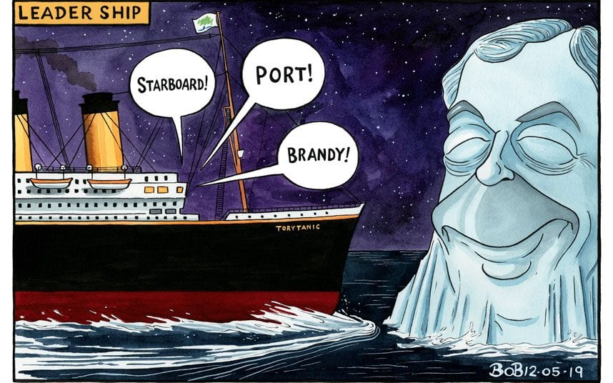 BOB CARTOON torytitanic